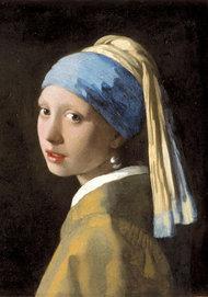 Vermeer. Pigen med perleøringen.